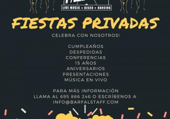 Fiestas Privadas